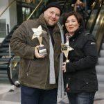 """Vera Int-Veen und Oliver Beerhenke zeichnen """"Die RTL-Dokustars 2010"""" aus."""